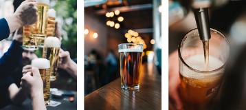Piwo beczkowe i butelkowe
